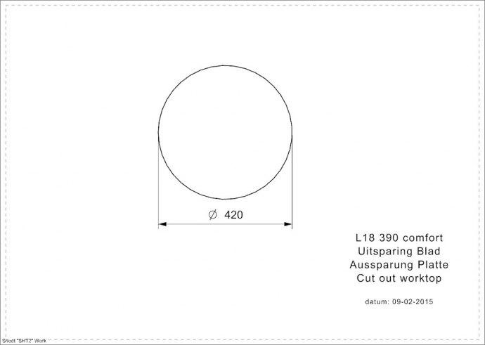 Reginox - R00755 Spoelbakken