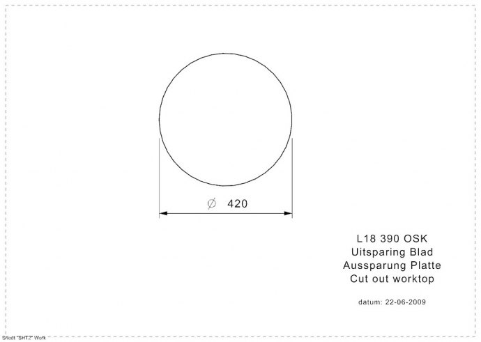 Reginox - R00748 Spoelbakken