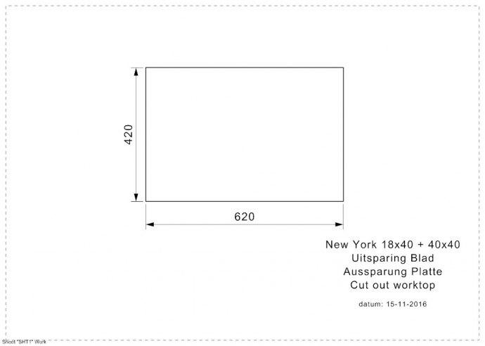 Reginox - R27868 Spoelbakken