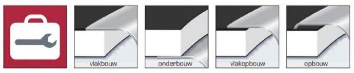 Reginox - R25550 Spoelbakken