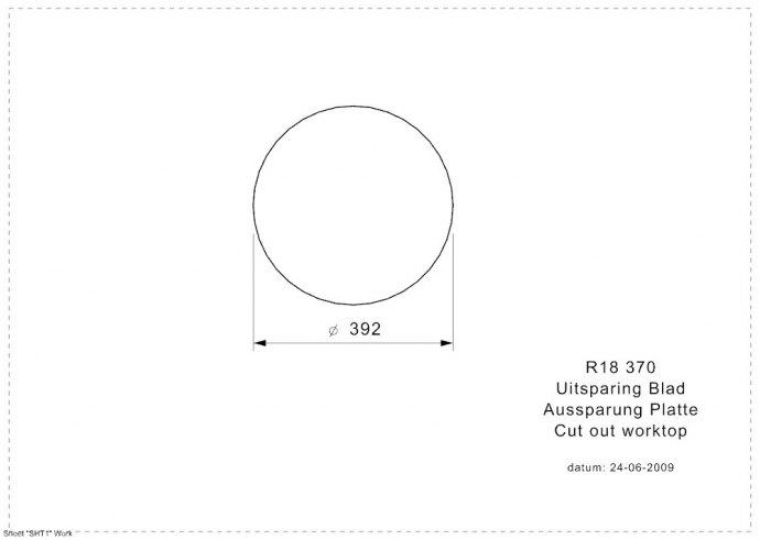 Reginox - R00311 Spoelbakken