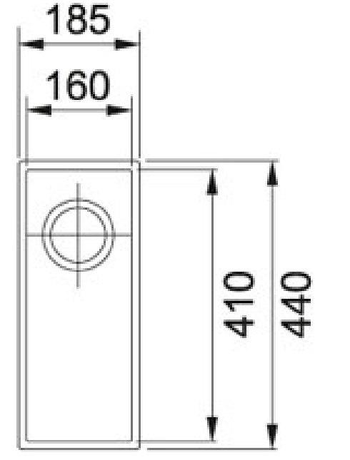 Franke - SID11016CB Spoelbakken