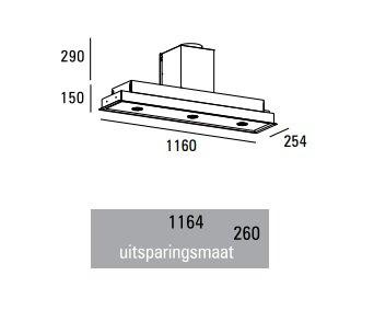 ABK - PA07116RZ Plafondunit
