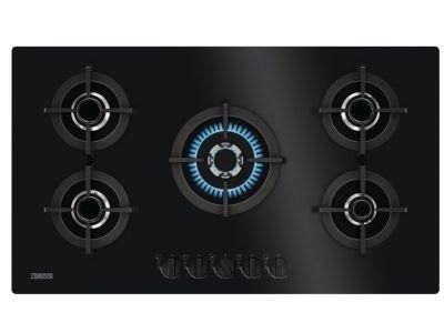 Zanussi ZGO98520BA Gas op glas kookplaat