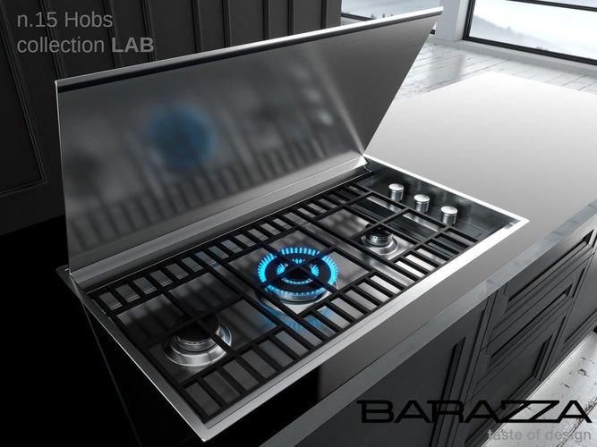 Barazza - 1PLBC2T Gaskookplaat