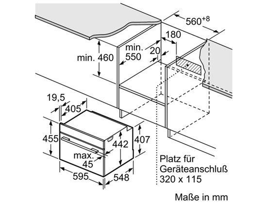 Bosch - CBG635BS1 Solo oven