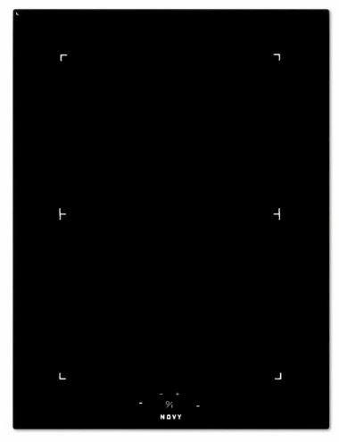 Novy 3774 Domino inductie kookplaat