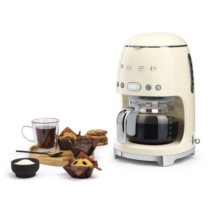 Smeg - DCF02CREU Koffiezetter vrijstaand