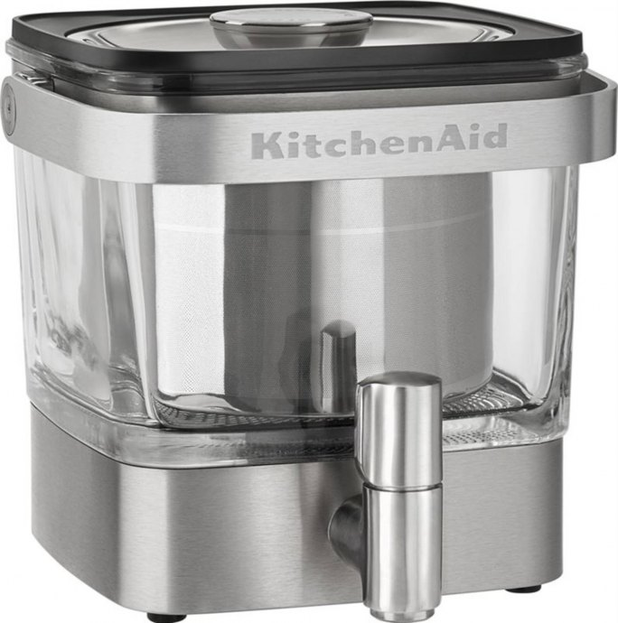 KitchenAid 5KCM4212ESX Koffiezetter vrijstaand