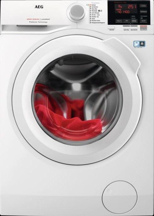 AEG L6FB86GW Vrijstaande wasmachines
