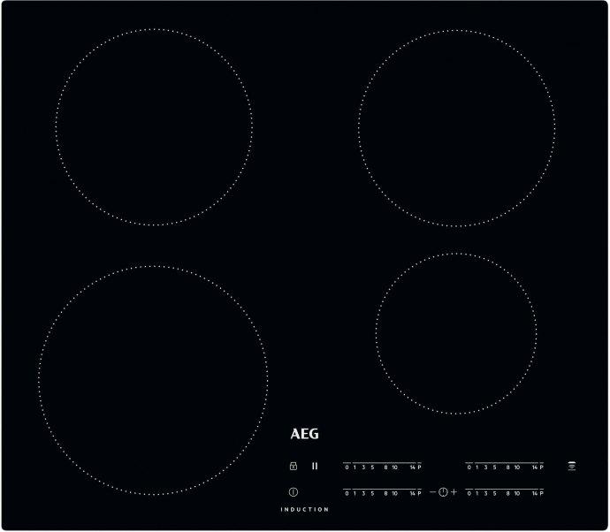 AEG IKK6440SCB Inductie kookplaat