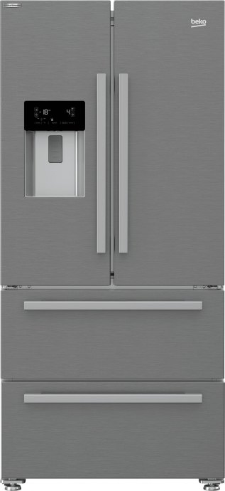 Beko GNE60530DX Side By Side koelkast