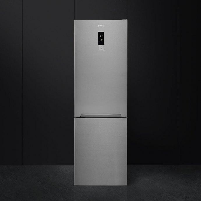 Smeg FC182PXNE Vrijstaande koelkast