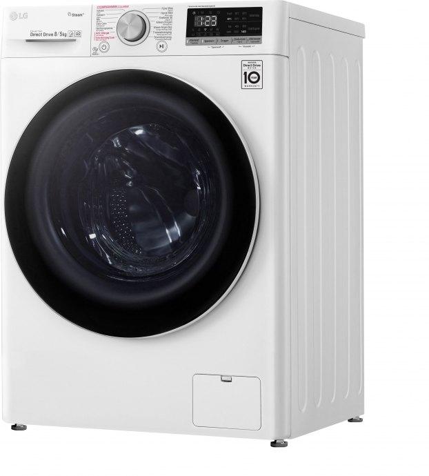 LG F4DN508S1 Vrijstaande wasmachines