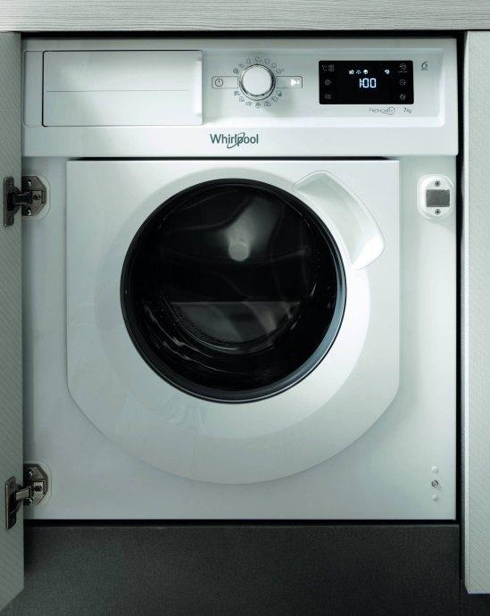 Whirlpool BIWMWG71484EEU Inbouw wasmachines