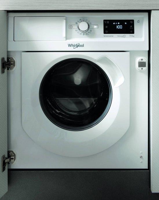 Whirlpool BIWDWG75148EU Inbouw wasmachines
