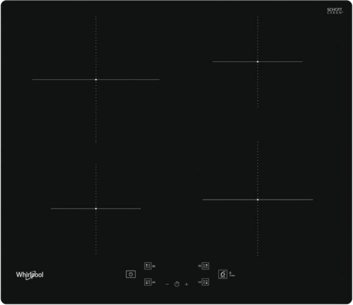 Whirlpool WSQ2160NE Inductie kookplaat