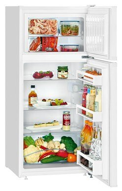 Liebherr CT213121 Vrijstaande dubbeldeurs koelkast