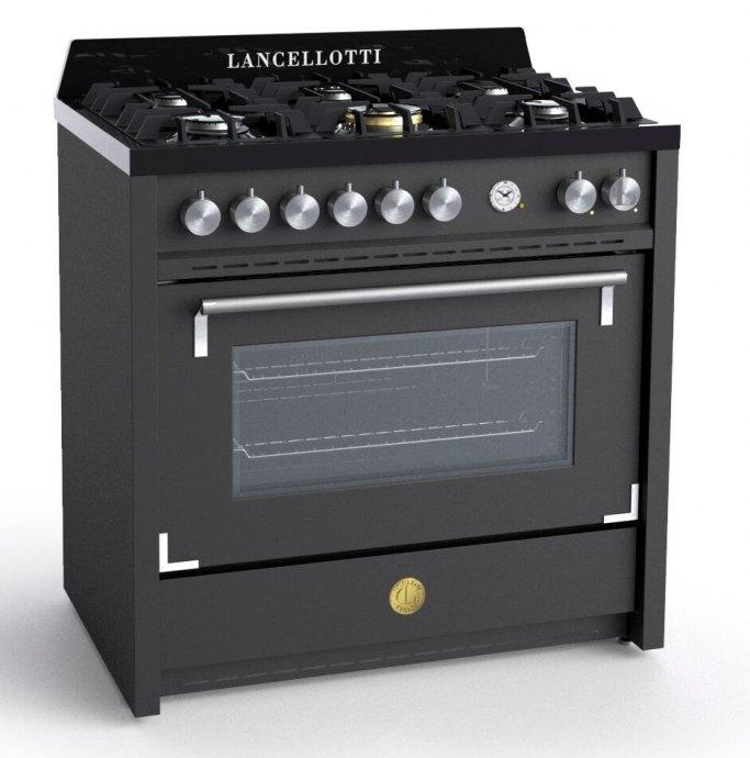 Lancellotti LCRC09F6NF Fornuis 90 cm