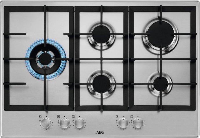AEG HGB75520SM Gaskookplaat