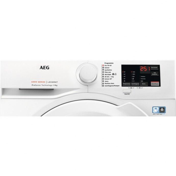 AEG - L6FB9ECO Vrijstaande wasmachines