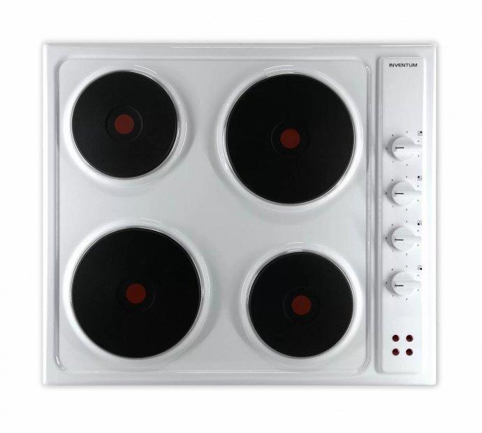Inventum VKE6010WIT Vrijstaande kookplaat