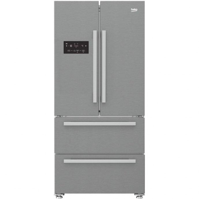 Beko GNE60530X Side By Side koelkast