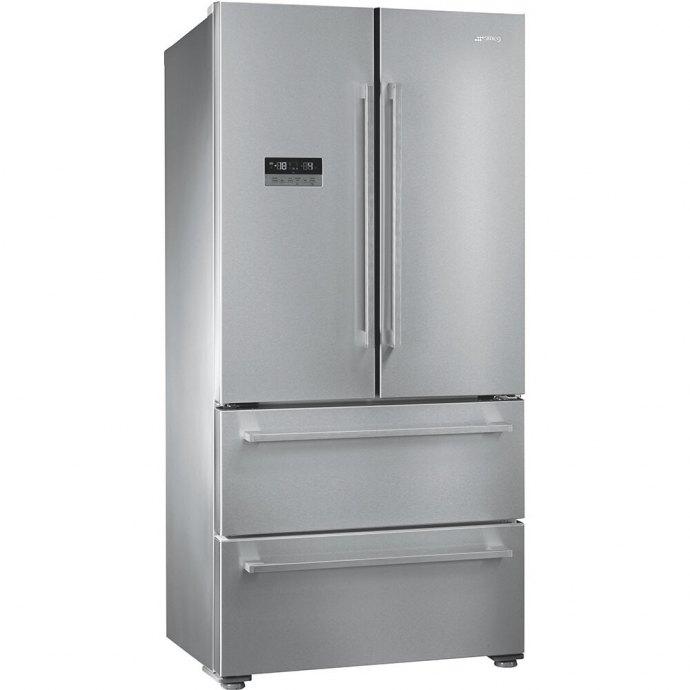 Smeg FQ55FXDF Side By Side koelkast