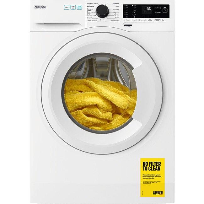 Zanussi ZWFN146TW Vrijstaande wasmachines