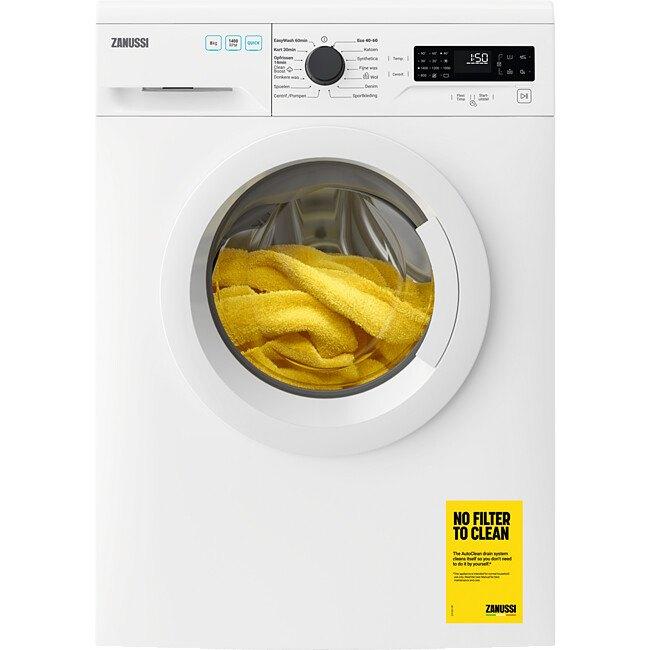 Zanussi ZWFN842TW Vrijstaande wasmachines