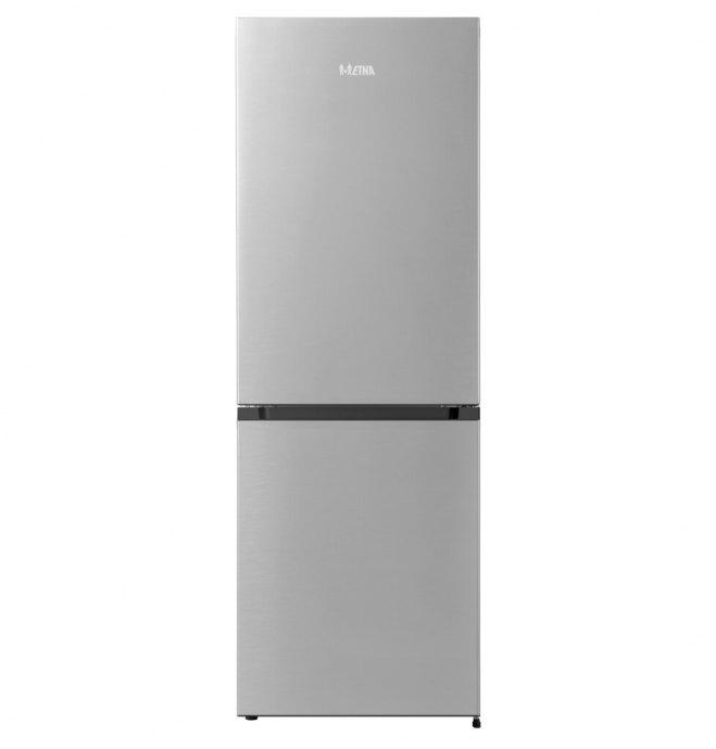 ETNA KCV161RVS Vrijstaande dubbeldeurs koelkast