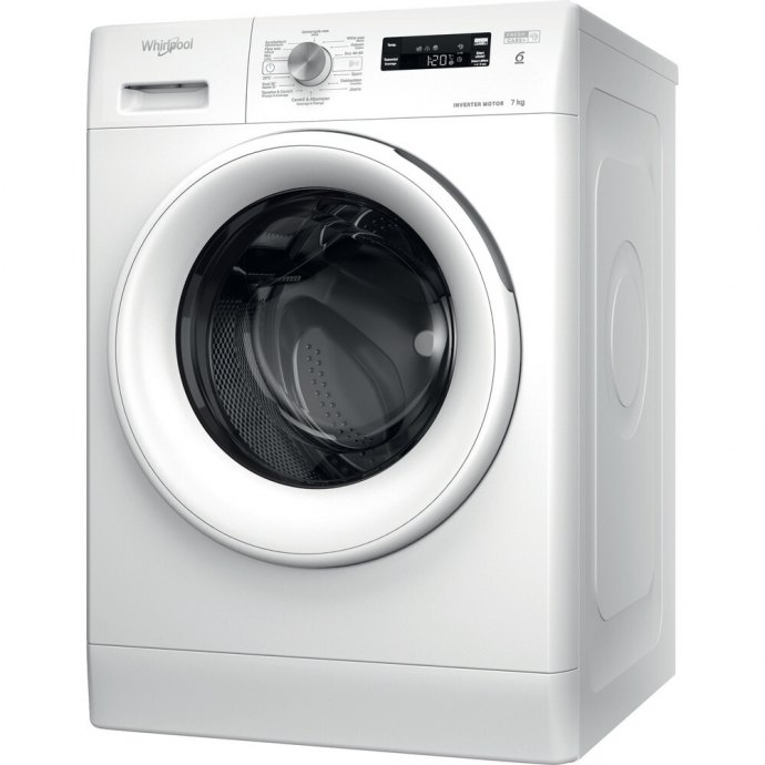 Whirlpool FFSBE7438WEF Vrijstaande wasmachines