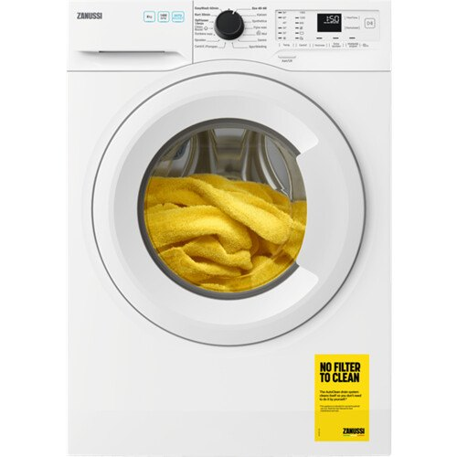Zanussi ZWFN844TW Vrijstaande wasmachines
