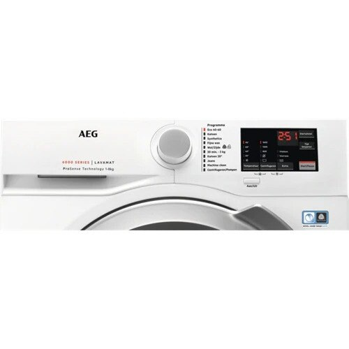 AEG - L6FB86ECO Vrijstaande wasmachines