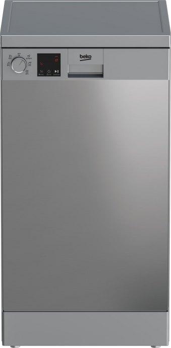 Beko DVS05024X Vrijstaande vaatwasser