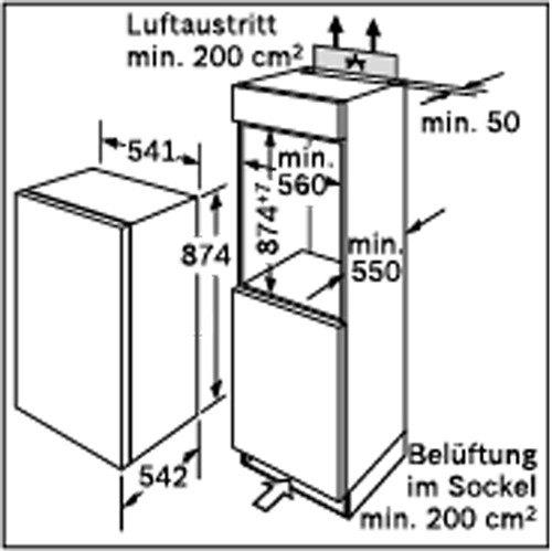 Bosch - GID18A20 Inbouw vriezers