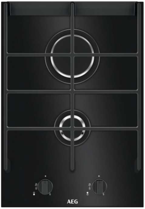 AEG HC412001GB Domino gas op glas kookplaat