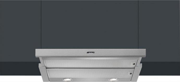 Smeg KSET600XE Vlakscherm afzuigkap