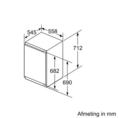 Siemens - GI11VAD30 Inbouw vriezers